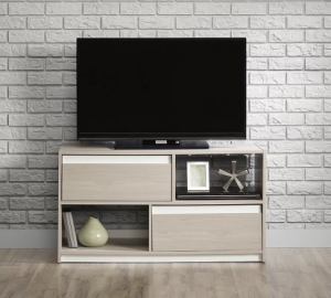 Sauder TV Stand Grey Ash (417119) Image