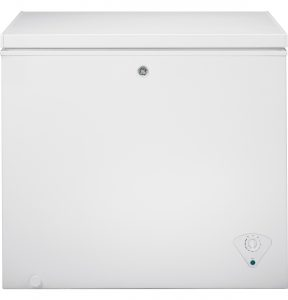 GE® 7.0 Cu. Ft. Manual Defrost Chest Freezer (FCM7SKWW) Image