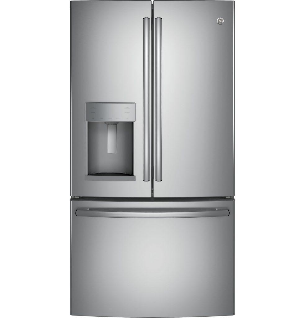 GE® 27.8 Cu. Ft. French-Door Refrigerator with Door In Door (GFD28GSLSS) Image