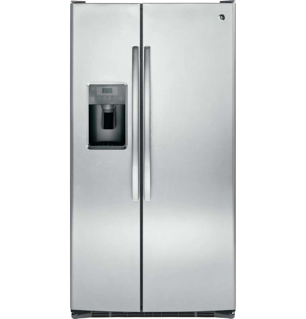 GE® ENERGY STAR® 25.3 Cu. Ft. Side-By-Side Refrigerator (GSE25GSHSS) Image