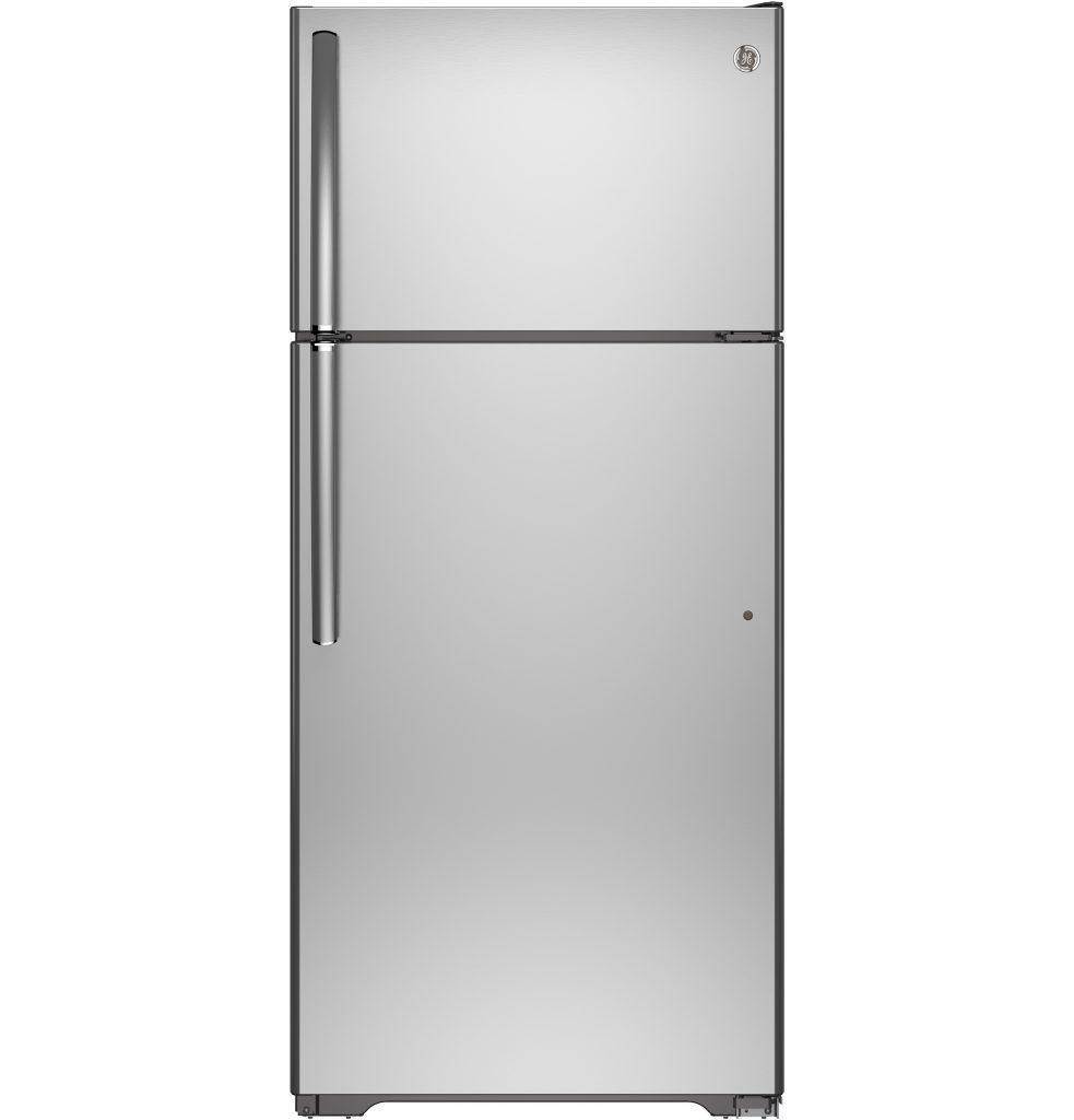 GE® 15.5 Cu. Ft. Top-Freezer Refrigerator (GTS16GSHSS) Image