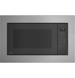 GE Profile™ Series 2.2 Cu. Ft. Built-In Sensor Microwave Oven (PEB7227SLSS) Image