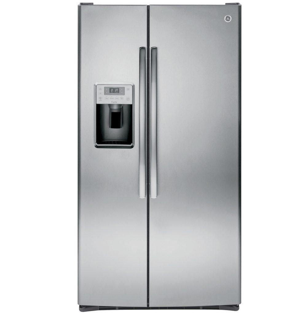 GE Profile™ Series 28.4 Cu. Ft. Side-by-Side Refrigerator (PSS28KSHSS) Image