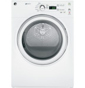 GE® 7.0 Cu. Ft. capacity Dura Drum electric Dryer (GFDN110EDWW) Image