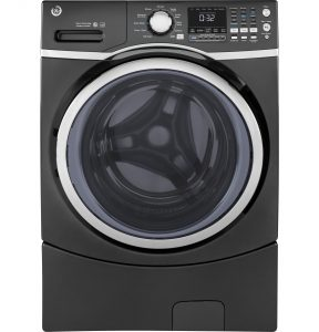 GE® ENERGY STAR® 4.5 DOE Cu. Ft. Capacity Frontload Washer with steam (GFW450SPKDG) Image