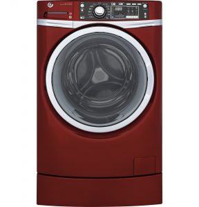 GE® 4.9 DOE cu. ft. Capacity RightHeight™ Front Load ENERGY STAR® Washer with Steam (GFW490RPKRR) Image