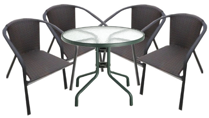 Global Decor Furniture Patio Set (iris) Image