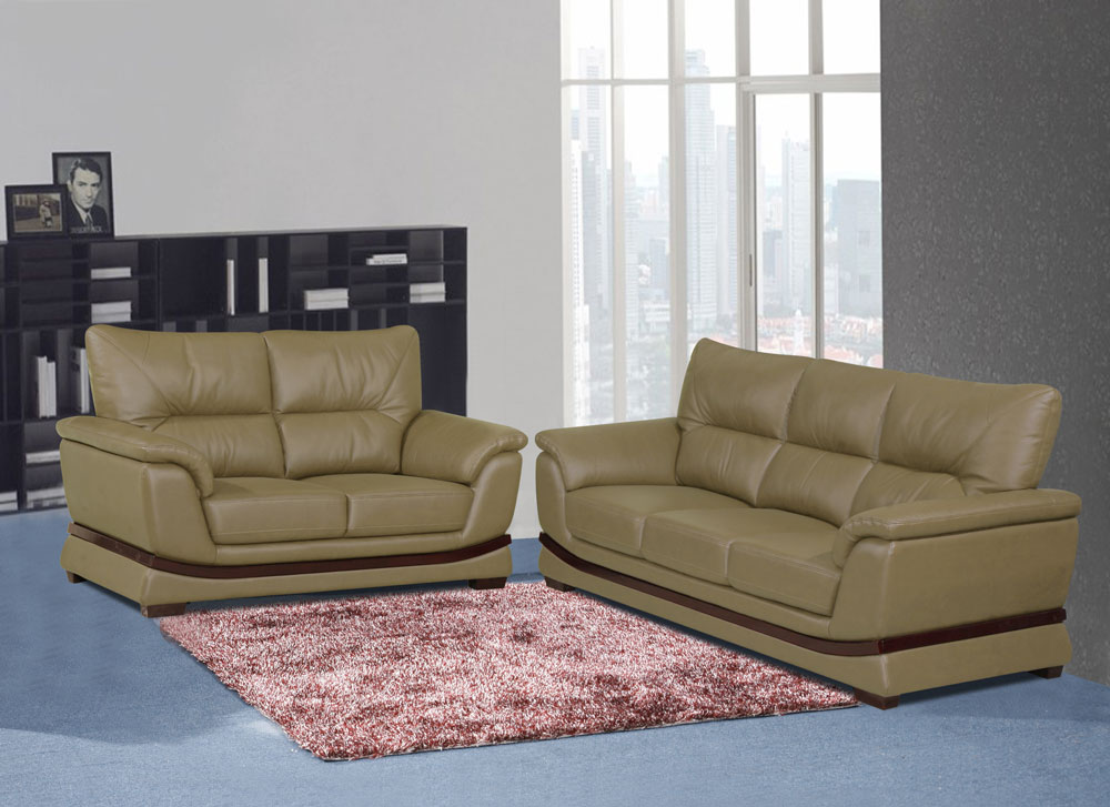 Global Decor Furniture Leather Set - Non-Recliner (MARTINO) Image