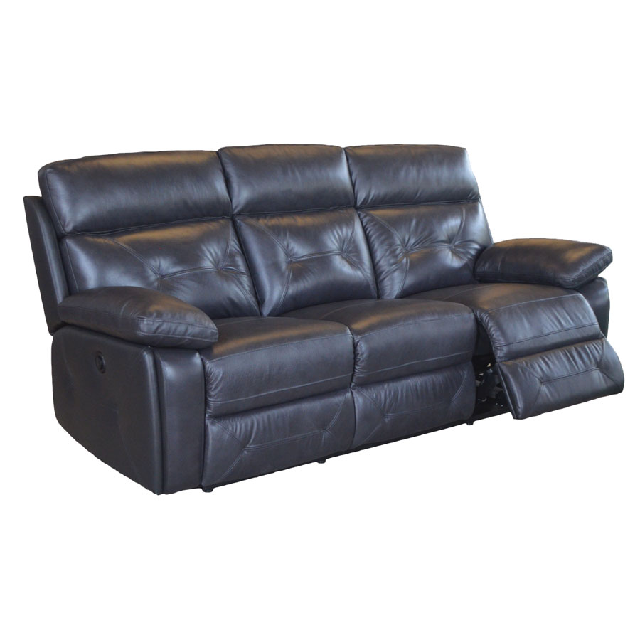 Global Decor Furniture 3pc Sofa Set Leather - 5 RECL (TBL-1753) Image