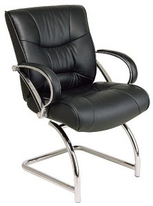 Office Star® Mid-Back Executive Visitors Chair (8605) Image
