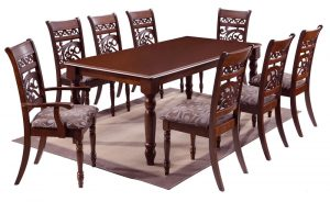 Global Decor Furniture 9pc Dinette (WF9330) Image