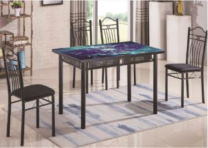 Global Decor Furniture 7pc Dinette (A20-17) Image
