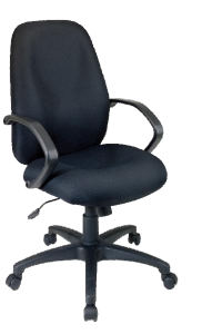 Office Star® Executive High Back Managers Chair with Fabric Back (EX2654-231) Image