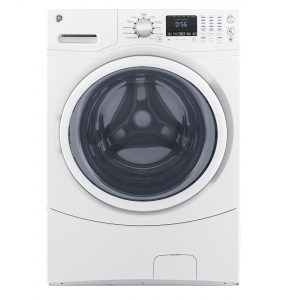 GE® 4.5 DOE cu. ft. Capacity Front Load ENERGY STAR® Washer (GFW430SSMWW) Image
