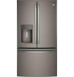 GE® 27.8 Cu. Ft. French-Door Refrigerator with Door In Door (GFD28GMLES) Image