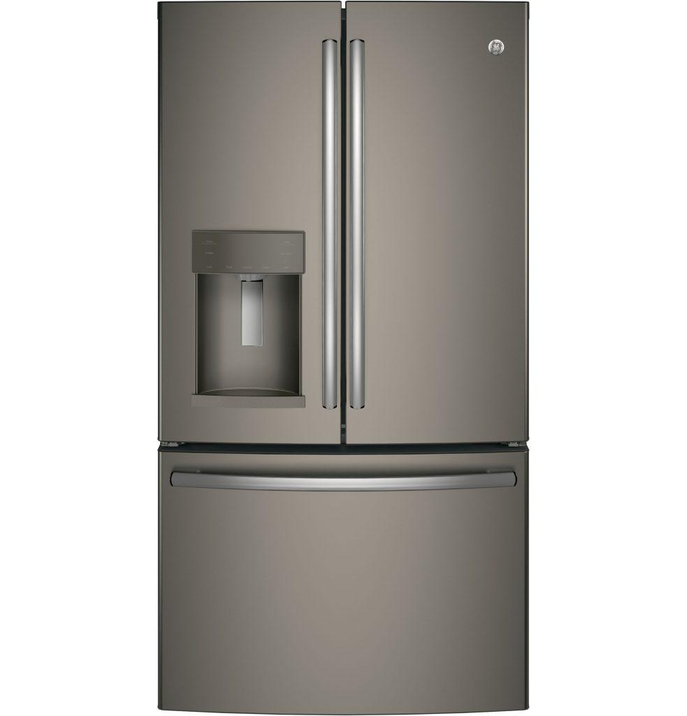 GE® 27.8 Cu. Ft. French-Door Refrigerator with Door In Door (GFD28GMLES) Image