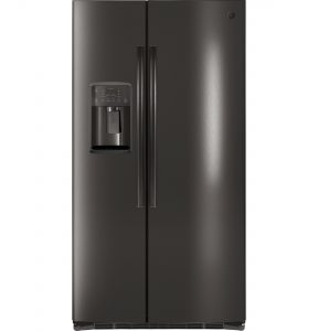 GE® ENERGY STAR® 25.3 Cu. Ft. Side-By-Side Refrigerator (GSE25HBLTS) Image