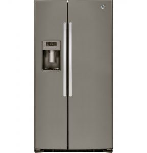 GE® ENERGY STAR® 25.3 Cu. Ft. Side-By-Side Refrigerator (GSE25HMHES) Image