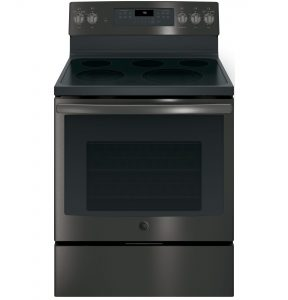 GE® 30in Free-Standing Electric Convection Range (JB750BJTS) Image