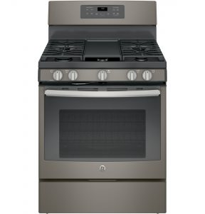 GE® 30in Free-Standing Gas Convection Range (JGB700EEJES) Image
