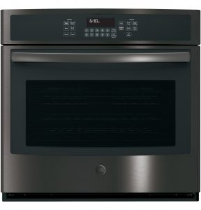 GE® 30in Built-In Single Convection Wall Oven (JT5000BLTS) Image