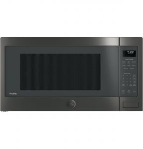 GE Profile™ Series 2.2 Cu. Ft. Countertop Sensor Microwave Oven (PES7227BLTS) Image
