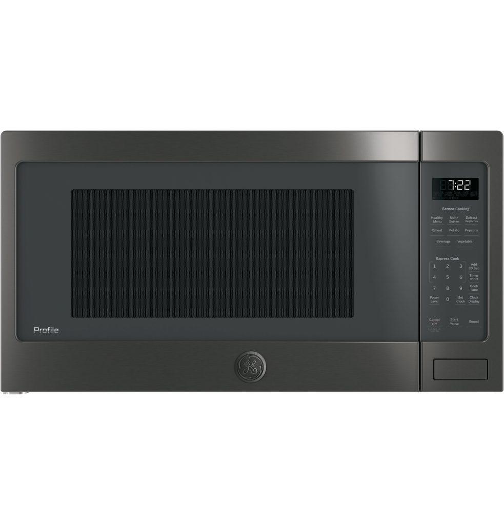 GE Profile™ Series 2.2 Cu. Ft. Countertop Sensor Microwave Oven (PES7227BLTS) Image