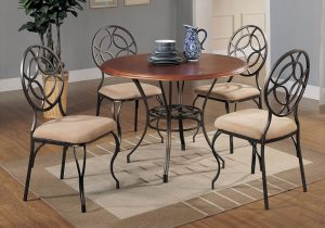 Global Decor Furniture 5pc Dinette (49222) Image