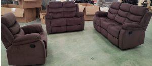 GDF 3pc Reclining Sofa Set (8005) Image