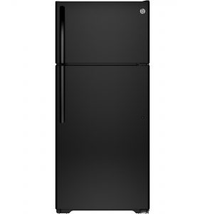 GE® ENERGY STAR® 15.5 Cu. Ft. Top-Freezer Refrigerator (GTE16GTNRBB) Image